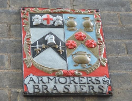 Armourers and Brasiers wall mount