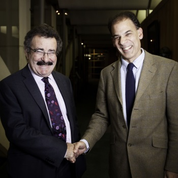 Professor Seif Shaheen and Professor Lord Winston