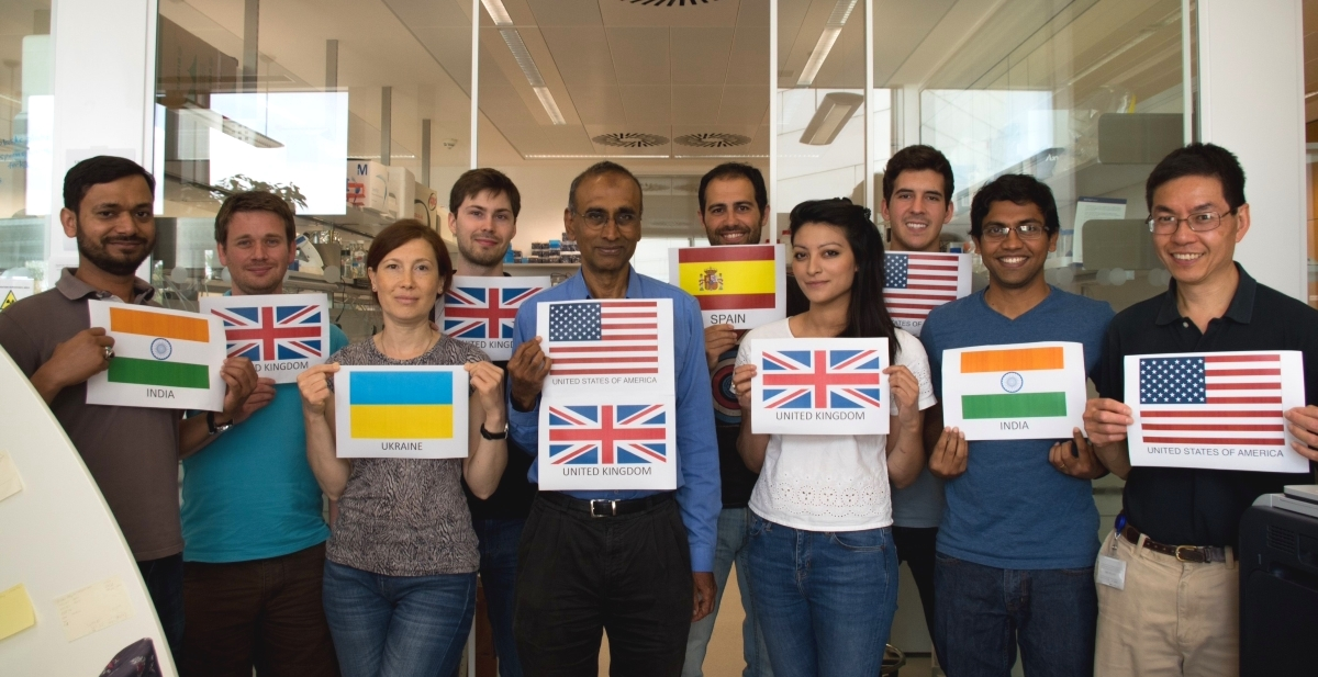 Venki #ScienceIsGlobal international team
