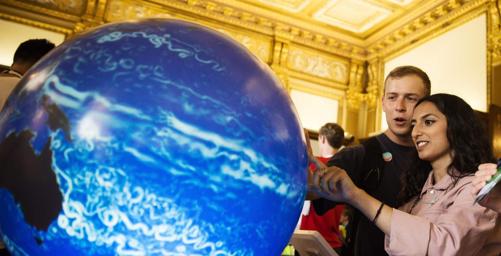 Visitors at the Royal Society's Summer Science Exhibition