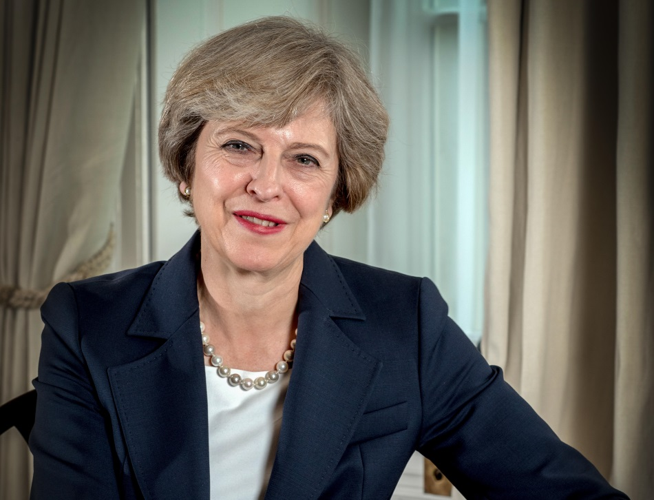 Prime Minister Theresa May. Credit: Andrew Parsons/i-Images