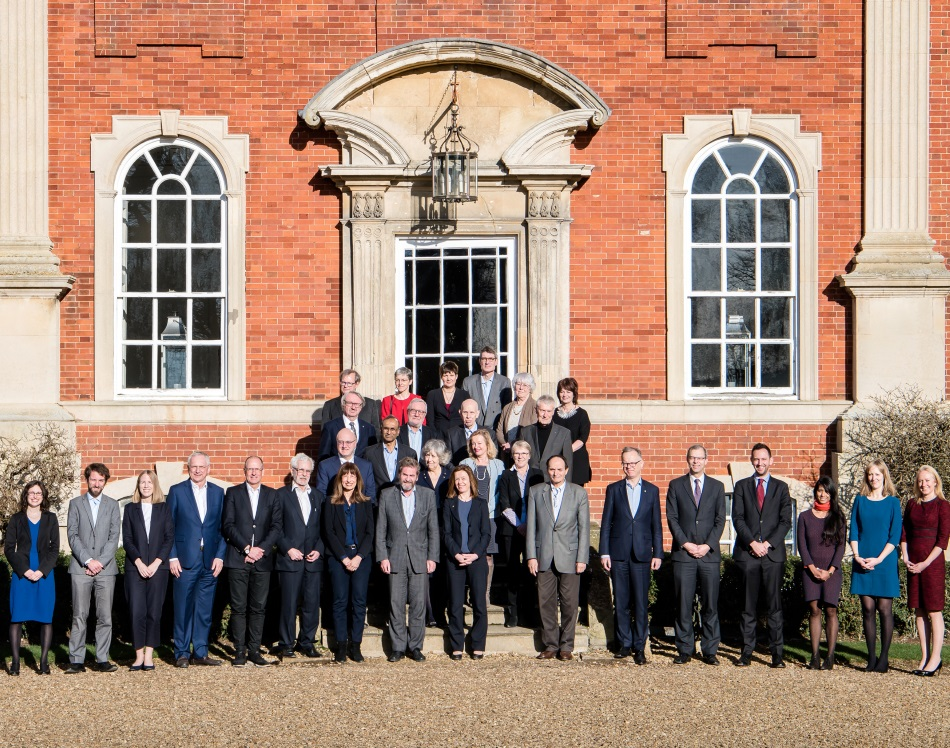 Future Partnership Project meeting at Chicheley Hall, January 2018