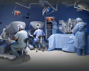 Robotic Surgery in action	Intuitive Surgical Inc