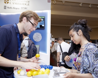 Rolls-Royce plc and University of Cambridge collaborate at the Summer Science Exhibition