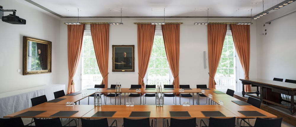 Conference And Meeting Room Hire In London Royal Society - Conference room table set up